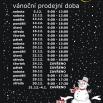 Vánoční pracovní doba 2015