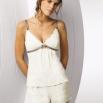 Mamabel_Millefleurs_PSK_pf_rdax_185x262.jpg - Pyžamo<br />Pohodlné pyžamko s romantickým potiskem. Klipy na ramínkách odepínají košíčky, které jsou podložené jemnou bavlnou. <p>Velikosti/ Délka<br />36 - 42<br />60 cm<br />Složení<br />90% Polyester, 10% Elastan</p>