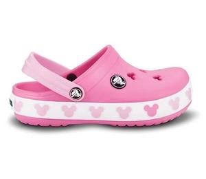 7a06a1fed1d Crocband Mickey II Kids Pink Lemonade Bubblegum - Crocband Mickey je  praktický dřeváček v roztomilém
